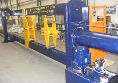 Horizontal Test Machine (Conf.beam testing)